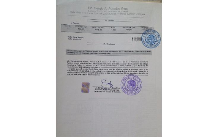 Foto de terreno habitacional en venta en  , dzitya, mérida, yucatán, 1172863 No. 02