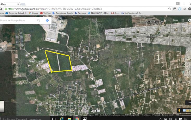 Foto de terreno comercial en venta en  , dzitya, mérida, yucatán, 1177303 No. 01