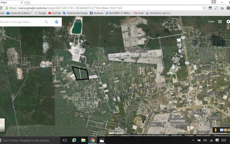 Foto de terreno comercial en venta en  , dzitya, mérida, yucatán, 1177303 No. 02