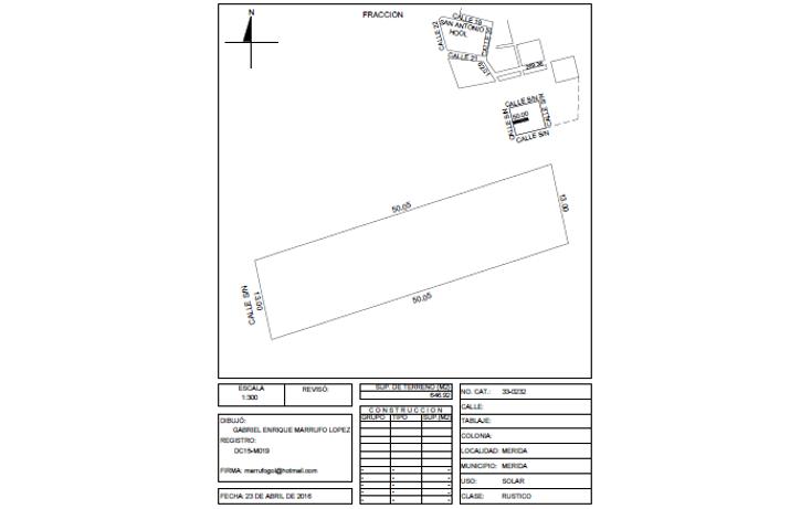 Foto de terreno habitacional en venta en  , dzitya, mérida, yucatán, 1179055 No. 03