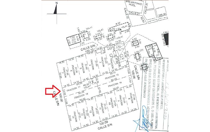 Foto de terreno habitacional en venta en  , dzitya, mérida, yucatán, 1179055 No. 04