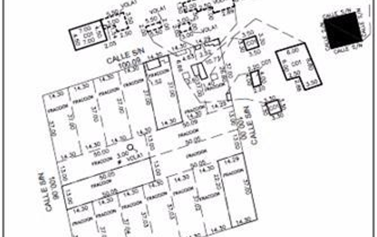 Foto de terreno habitacional en venta en  , dzitya, mérida, yucatán, 1179055 No. 08