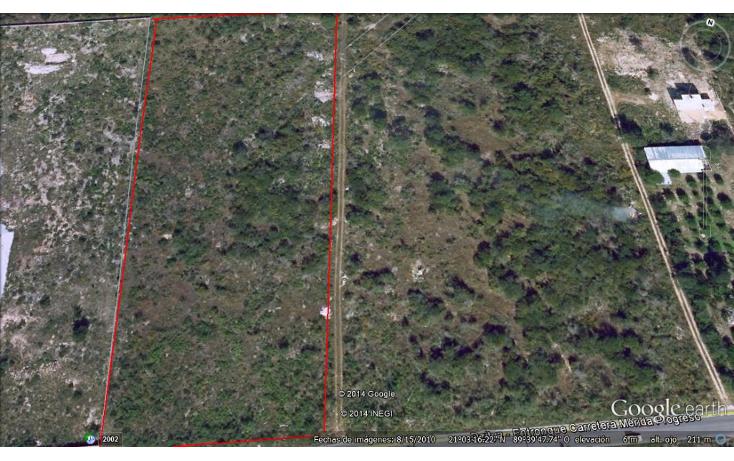 Foto de terreno habitacional en venta en  , dzitya, mérida, yucatán, 1181383 No. 02