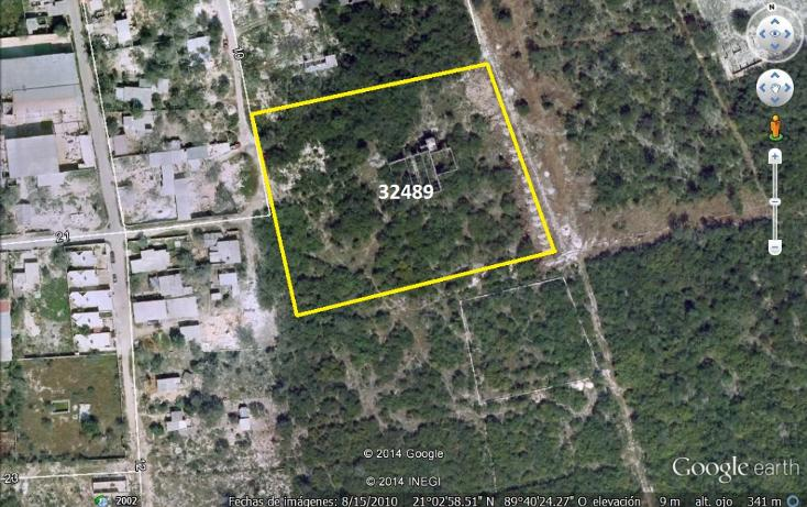 Foto de terreno comercial en venta en  , dzitya, mérida, yucatán, 1205441 No. 01