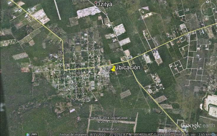 Foto de terreno comercial en venta en  , dzitya, mérida, yucatán, 1205441 No. 03