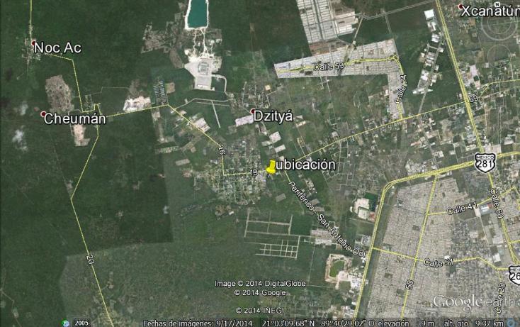 Foto de terreno comercial en venta en  , dzitya, mérida, yucatán, 1205441 No. 04