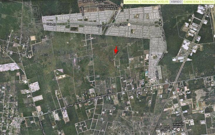 Foto de terreno habitacional en venta en  , dzitya, mérida, yucatán, 1207323 No. 01