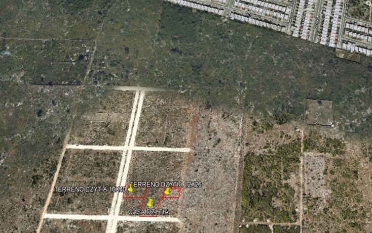 Foto de terreno habitacional en venta en  , dzitya, mérida, yucatán, 1207323 No. 02