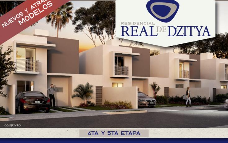 Foto de casa en venta en, dzitya, mérida, yucatán, 1231891 no 01