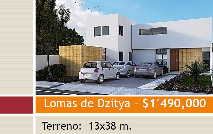 Foto de casa en venta en  , dzitya, mérida, yucatán, 1256321 No. 01