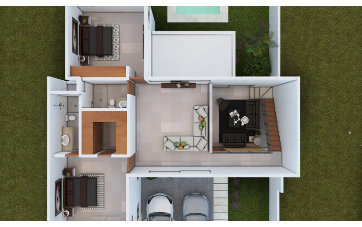 Foto de casa en venta en  , dzitya, mérida, yucatán, 1256321 No. 03