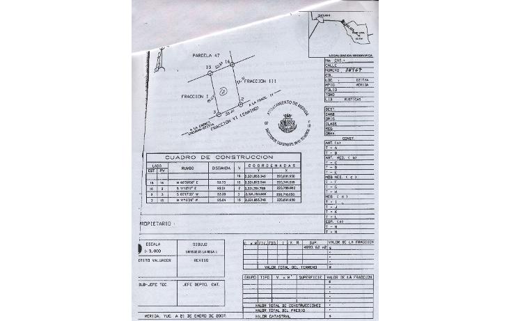 Foto de terreno comercial en venta en  , dzitya, mérida, yucatán, 1259775 No. 07
