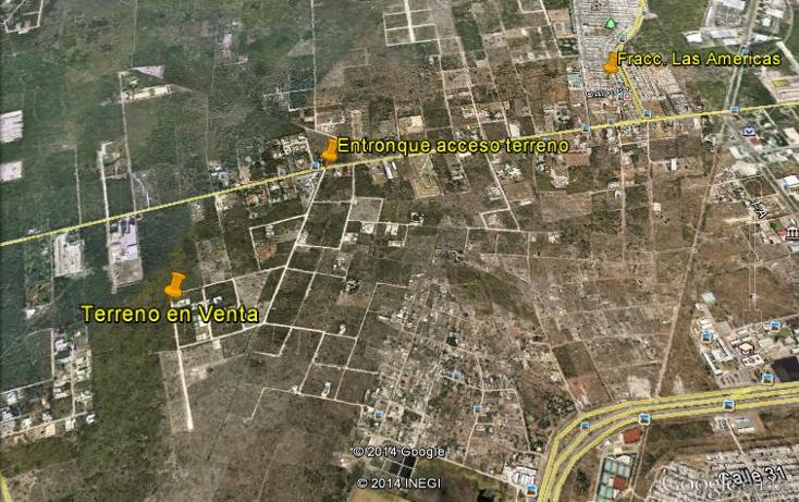 Foto de terreno habitacional en venta en  , dzitya, mérida, yucatán, 1267151 No. 01