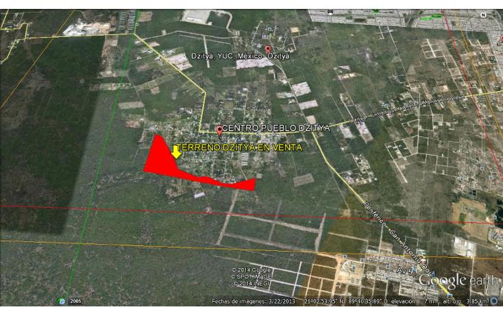 Foto de terreno habitacional en venta en  , dzitya, mérida, yucatán, 1269061 No. 02