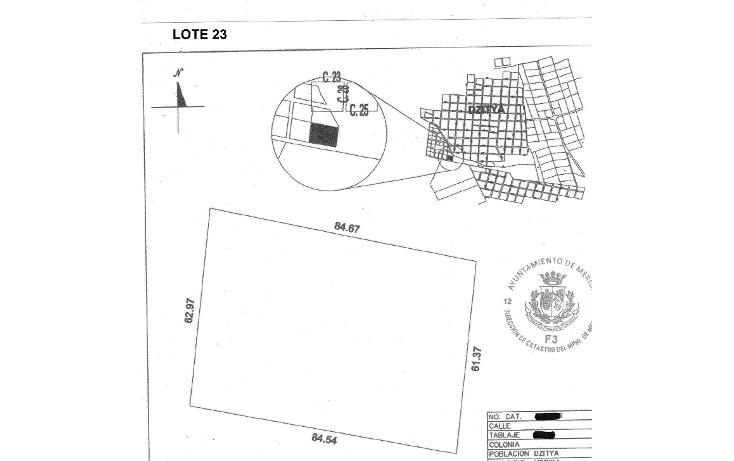 Foto de terreno habitacional en venta en  , dzitya, mérida, yucatán, 1269061 No. 04