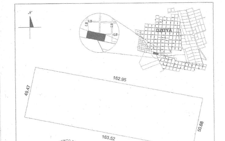 Foto de terreno habitacional en venta en  , dzitya, mérida, yucatán, 1269061 No. 05