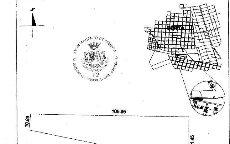 Foto de terreno habitacional en venta en  , dzitya, mérida, yucatán, 1269061 No. 07