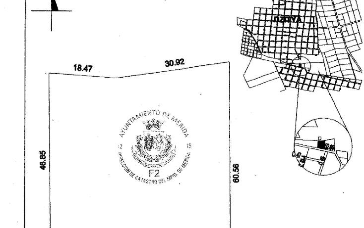 Foto de terreno habitacional en venta en  , dzitya, mérida, yucatán, 1269061 No. 09