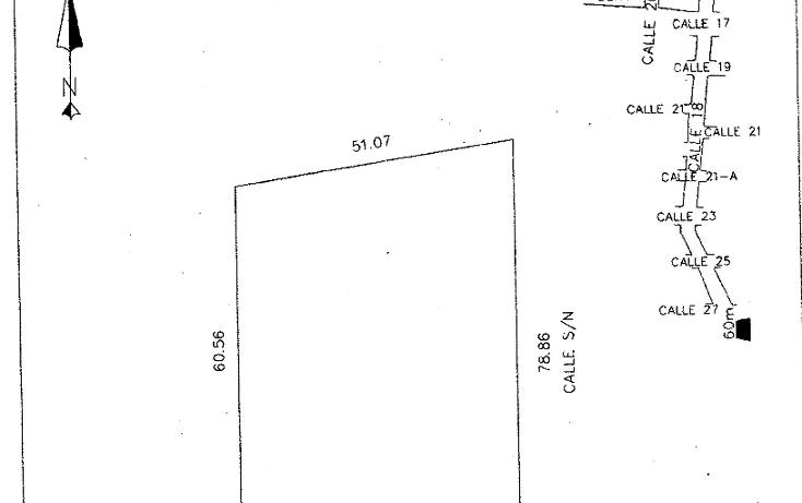 Foto de terreno habitacional en venta en  , dzitya, mérida, yucatán, 1269061 No. 10