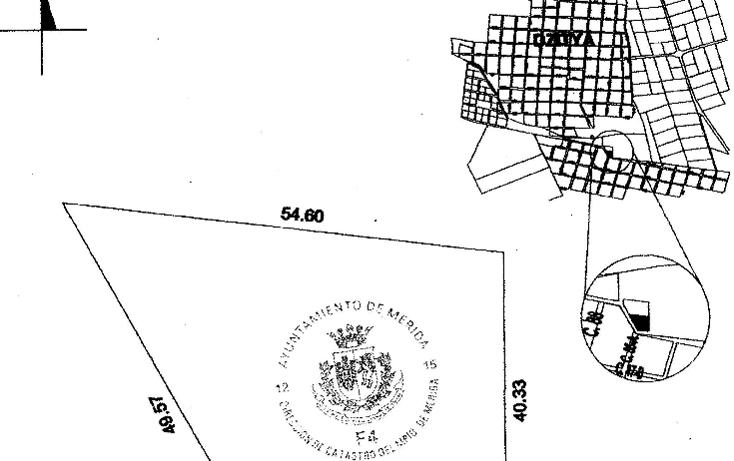 Foto de terreno habitacional en venta en  , dzitya, mérida, yucatán, 1269061 No. 12