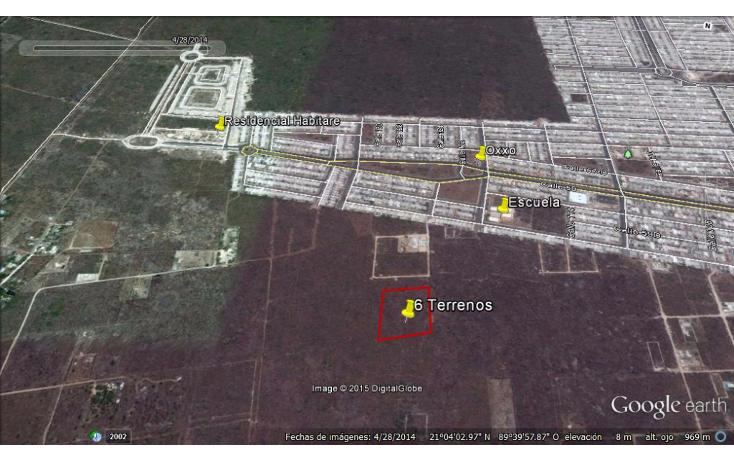 Foto de terreno habitacional en venta en  , dzitya, mérida, yucatán, 1282359 No. 04