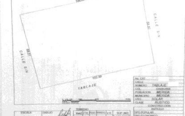 Foto de terreno habitacional en venta en, dzitya, mérida, yucatán, 1283277 no 06