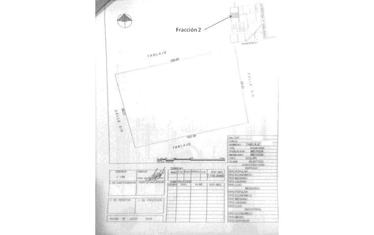 Foto de terreno habitacional en venta en  , dzitya, mérida, yucatán, 1283277 No. 06