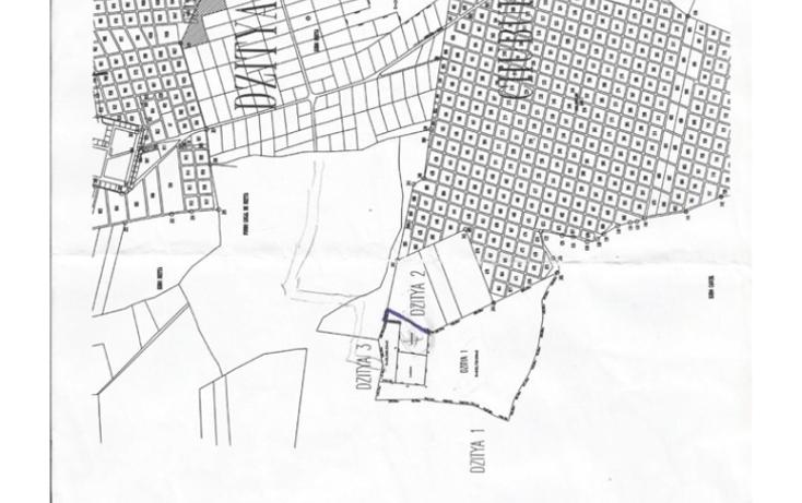 Foto de terreno habitacional en venta en  , dzitya, mérida, yucatán, 1297983 No. 01