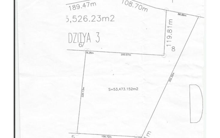 Foto de terreno habitacional en venta en  , dzitya, mérida, yucatán, 1297983 No. 02