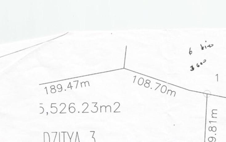 Foto de terreno habitacional en venta en  , dzitya, mérida, yucatán, 1297983 No. 04