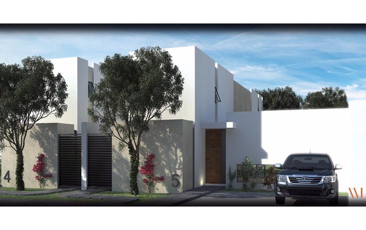 Foto de casa en venta en  , dzitya, mérida, yucatán, 1414781 No. 01