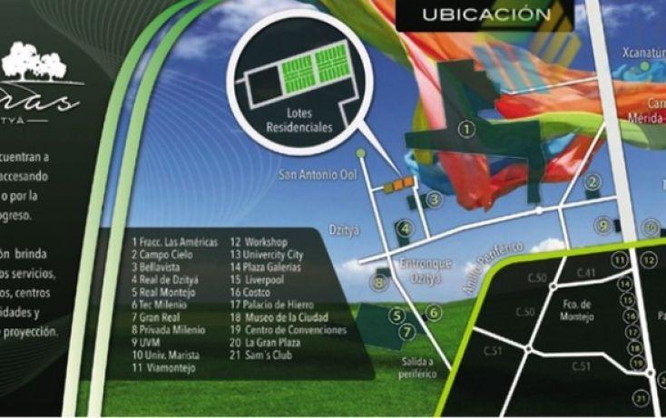 Foto de terreno habitacional en venta en, dzitya, mérida, yucatán, 1440381 no 05