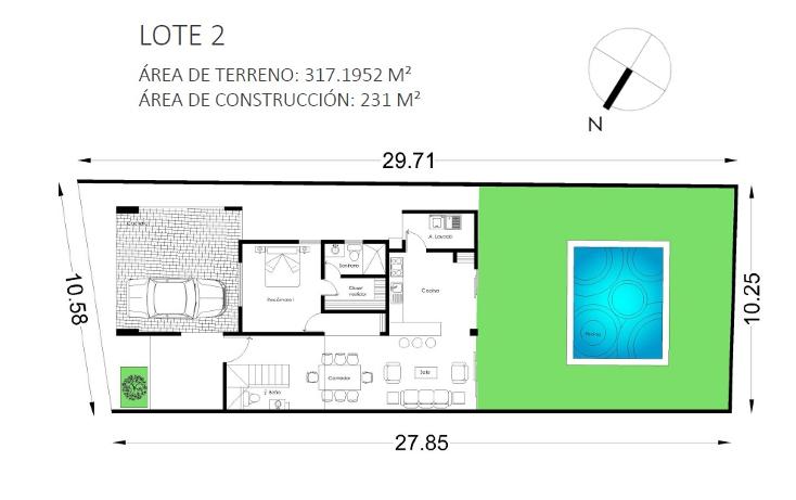 Foto de casa en venta en  , dzitya, mérida, yucatán, 1477861 No. 08