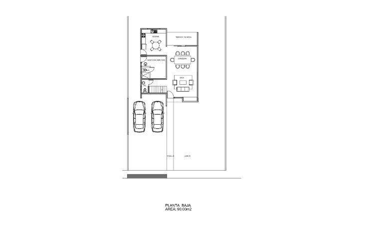 Foto de casa en venta en  , dzitya, mérida, yucatán, 1515096 No. 02