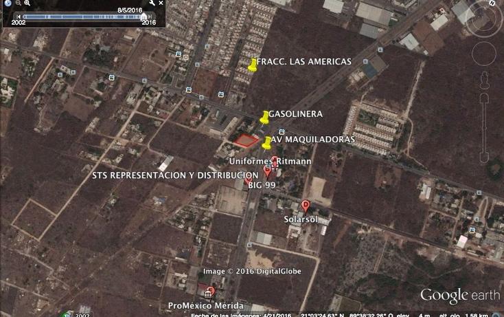 Foto de terreno comercial en renta en  , dzitya, mérida, yucatán, 1527317 No. 01