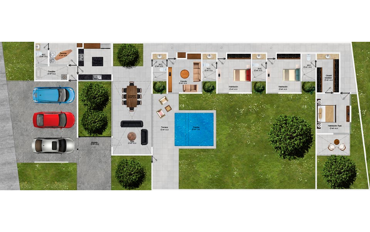 Foto de casa en venta en  , dzitya, mérida, yucatán, 1549148 No. 05