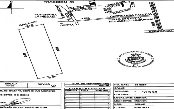 Foto de terreno habitacional en venta en, dzitya, mérida, yucatán, 1556354 no 09