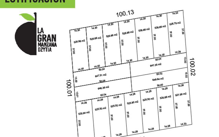 Foto de terreno habitacional en venta en  , dzitya, mérida, yucatán, 1609732 No. 02