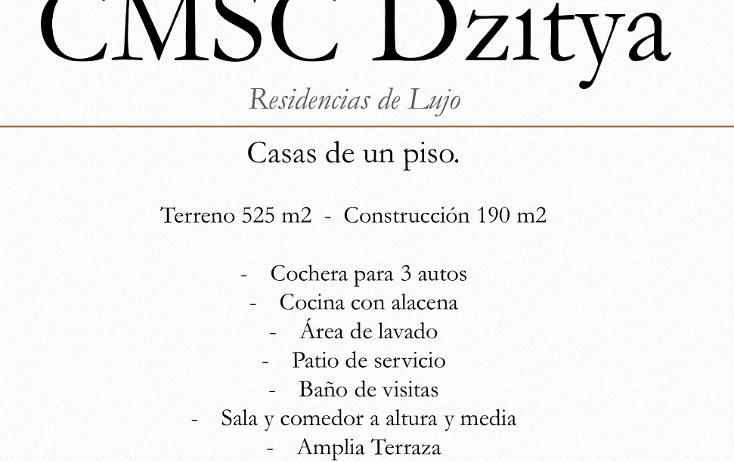 Foto de casa en venta en  , dzitya, mérida, yucatán, 1637662 No. 05