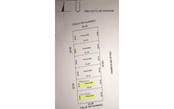 Foto de terreno habitacional en venta en  , dzitya, mérida, yucatán, 1647120 No. 01