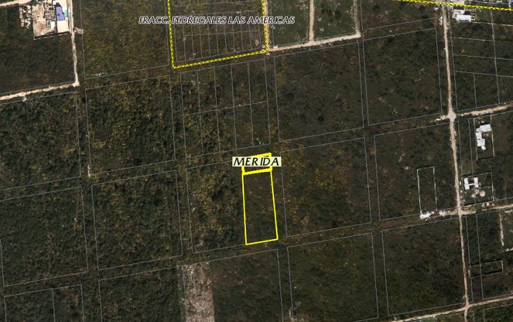 Foto de terreno habitacional en venta en  , dzitya, mérida, yucatán, 1647120 No. 02
