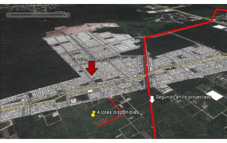 Foto de terreno habitacional en venta en  , dzitya, mérida, yucatán, 1647120 No. 03