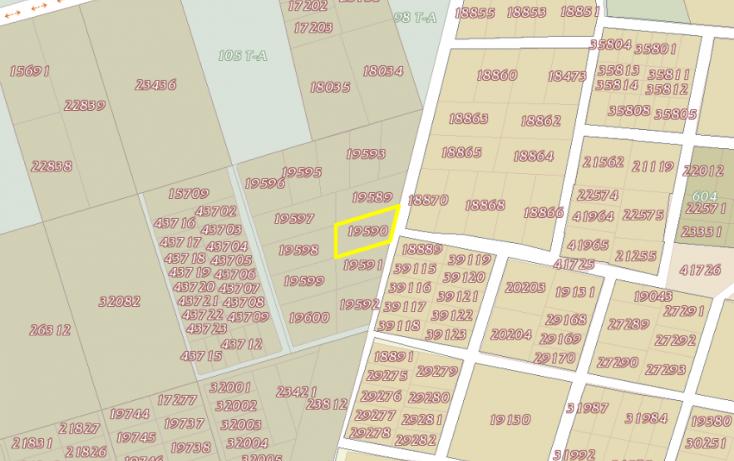Foto de terreno habitacional en venta en, dzitya, mérida, yucatán, 1690258 no 03