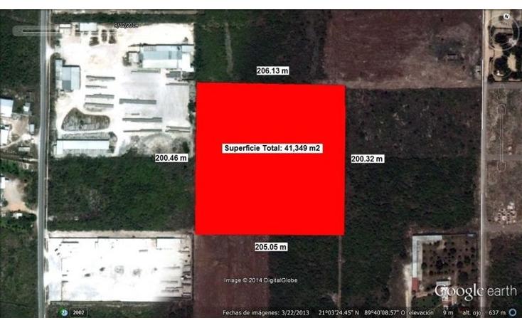 Foto de terreno habitacional en venta en  , dzitya, mérida, yucatán, 1694422 No. 01