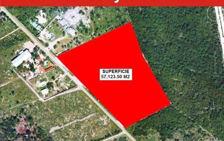 Foto de terreno comercial en venta en  , dzitya, mérida, yucatán, 1702220 No. 01