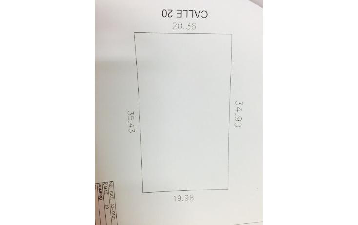 Foto de terreno habitacional en venta en  , dzitya, mérida, yucatán, 1721978 No. 02