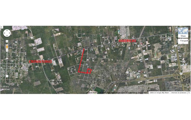 Foto de terreno habitacional en venta en  , dzitya, mérida, yucatán, 1722378 No. 01