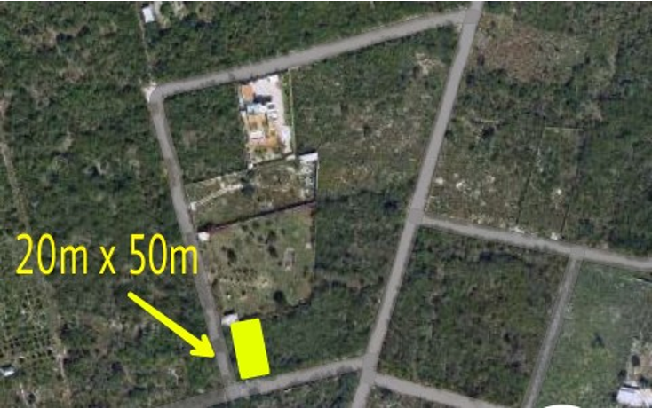 Foto de terreno habitacional en venta en  , dzitya, mérida, yucatán, 1729876 No. 03