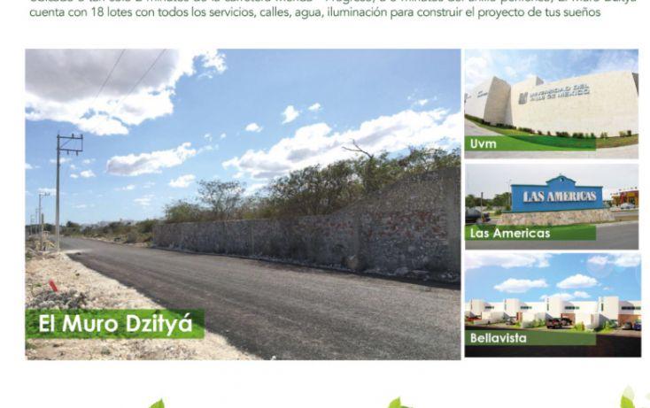Foto de terreno habitacional en venta en, dzitya, mérida, yucatán, 1731994 no 01