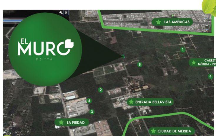 Foto de terreno habitacional en venta en, dzitya, mérida, yucatán, 1731994 no 03